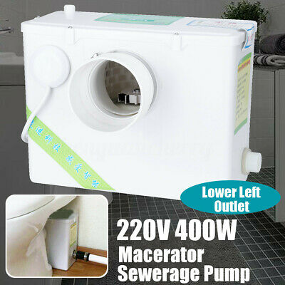 Macerator Sewerage Pump Waste Water Marine Laundry Toilet Disposal Basement Unit