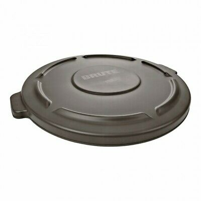 """Rubbermaid Fg261960 Brute Container Lid, Gray, Plastic - 19-7/8"""" X 1-1/4"""""""