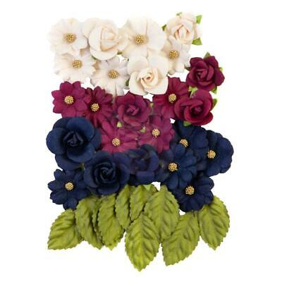 NEW Prima Marketing - Mulberry Paper Flowers - Sweet Notes/Darcelle