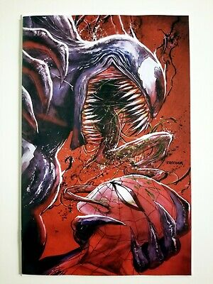 Venom 18 Variant Virgin Cover • Tyler Kirkham Exclusive • Comic Spot • NM Unread