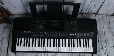 Yamaha PSR-E463 61 Key Touch Response Keyboard USB Audio Recorder and Survival K