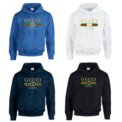 Gucci Gang Inspired Hoodie Kids And Adults Lil Pump Rap Youth Top Quality