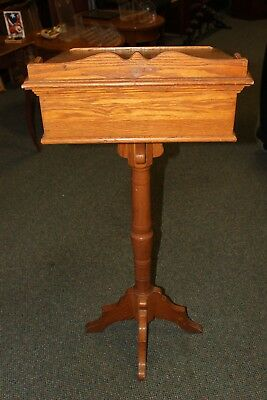 Solid Oak Podium in great condition