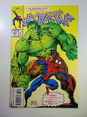 """The Amazing Spider-man #382 """"Emerald Rage!"""" Beautiful NM-/NM Condition!!"""