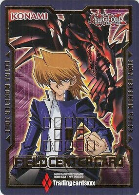 ♦Yu-Gi-Oh!♦ Field Center Card: Joey Wheeler & Dragon Noir aux Yeux Rouges - DUDE
