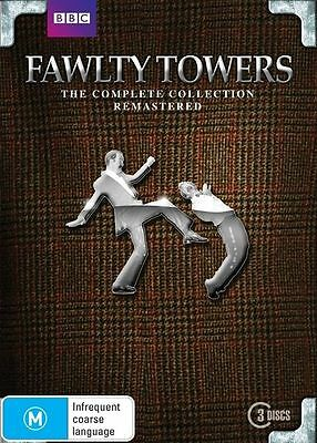 Fawlty Towers - The Complete Remastered (DVD, 2011, 3-Disc Set)