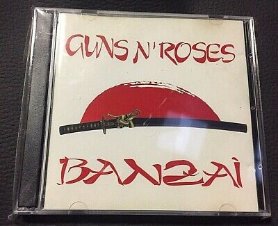 GUNS N' ROSES - BANZAI  - 2 CD LIVE BKCD 001/002  NO CDr RARO SEALED MINT