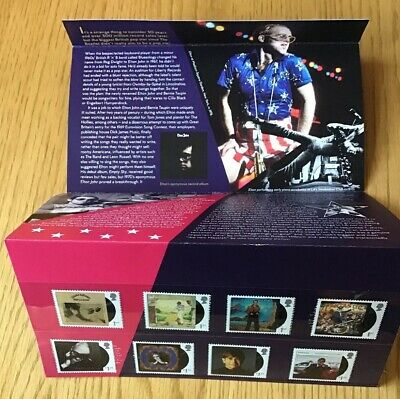 GB 2019 Elton John Postage Stamps Presentation Pack No.575 - MINT Unopened