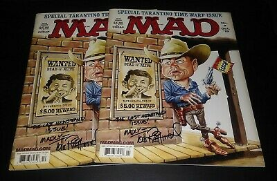 Tom Richmond Authentic Autographed MAD Magazine Last Newsstand Issue No.9 Oct.19