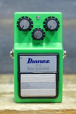 Ibanez TS9 Tube Screamer Reissue Classic Overdrive / Distortion Effect Pedal