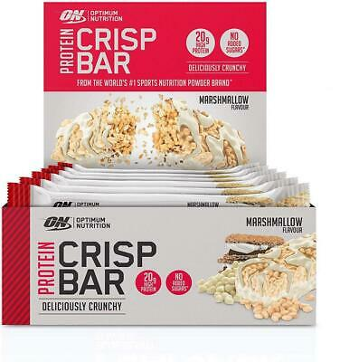 Optimum Nutrition Protein Crisp Bar with 20g [Contains Whey 7 Pound