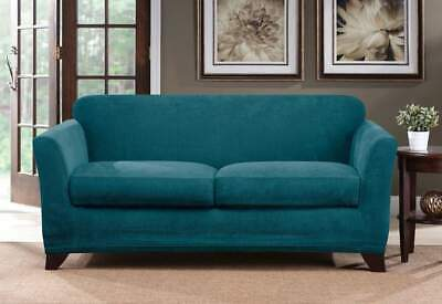 Awesome Sure Fit Ultimate Stretch Chenille Loveseat Slipcover Cover Unemploymentrelief Wooden Chair Designs For Living Room Unemploymentrelieforg