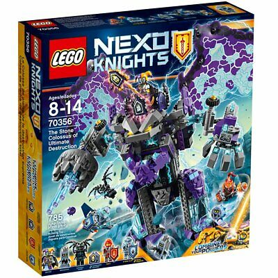 LEGO NEXO KNIGHTS The Stone Colossus of Ultimate Destruction 2017 70356