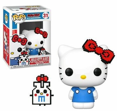 Funko Pop! 8 bit Hello Kitty #31 IN HAND