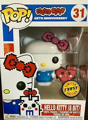 Funko Pop! 8 bit Hello Kitty #31 CHASE IN HAND