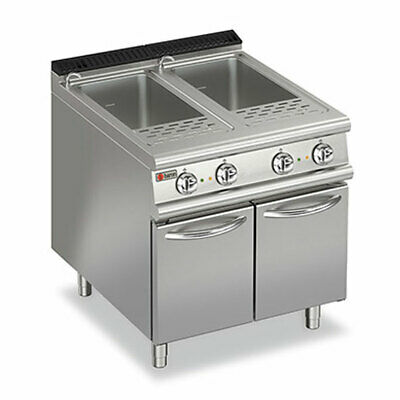 Baron 2 X 26L Double Well Electric Pasta Cooker Pasta Cookers - Gas