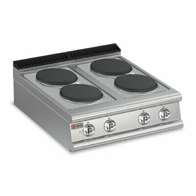 Baron Four Burner Bench Model Electric Cook Top