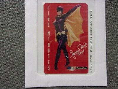 Yvonne Craig as Batgirl Collectors Phone Card AmeriVox Collectible Rare
