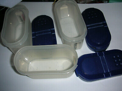Tupperware Small Spice Container Shaker Set of Three