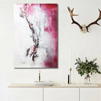 Huge Modern Abstract Canvas Oil Print Painting Home Wall Poster Decor  U K
