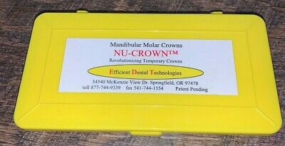 Nu-Crown Temporary Dental Crowns by Efficient Dental Technologies