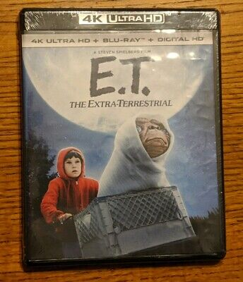 E.T. The Extra-Terrestrial 4K Ultra HD + Blu-ray + Digital HD *BRAND NEW*