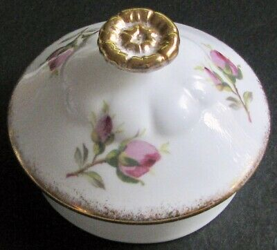 """Hard-to-Find ROYAL ALBERT """"American Beauty"""" Teapot Lid in Excellent Condition"""