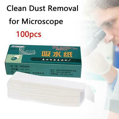 100Pcs Clean Dust Removal For Microscope Qualitative Laboratory Chemistry U Top