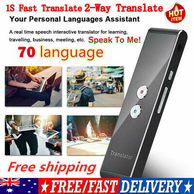 AU Translaty MUAMA Enence Smart Instant Real Time Voice 70 Languages Translator