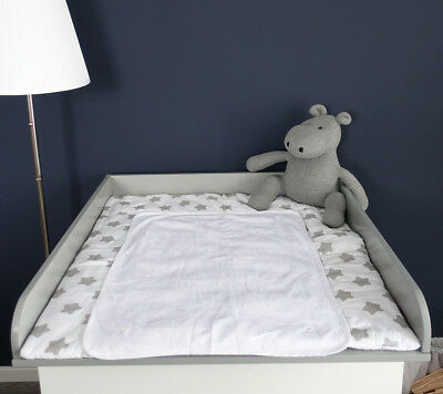 """Puckdaddy changing table for drawer chest Ikea malm  """"Standard Extraround"""" grey"""