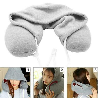 Adults Hooded Travel Neck Pillow car Flight Cushion Support 2019new Comfort X5M9