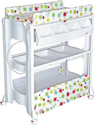 Bebe Style PORTABLE CHANGER UNIT WITH BATH Newborn Baby Changing Table Tub BNIP