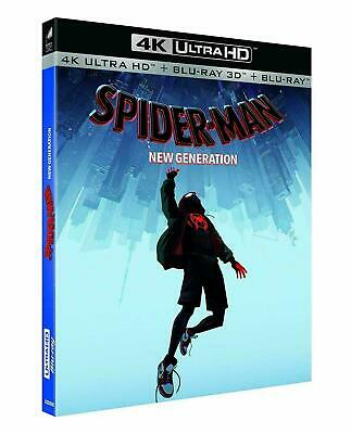 Blu Ray 4K + 3D + 2D : Spider-Man New Generation - NEUF