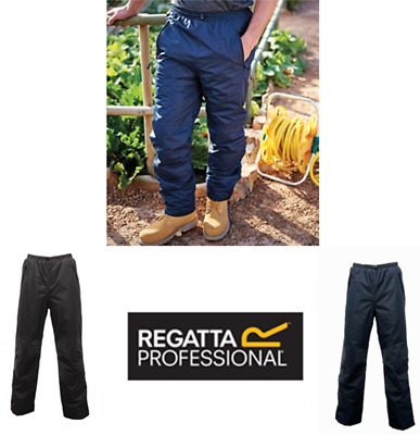 Regatta Wetherby Insulated Overtrousers Elasticated Windproof Waterproof - RG030