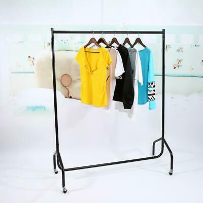 4/5/6FT Super Heavy Duty Garment Clothes Rail Metal Hanging Display Stand Rack