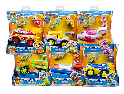 Paw Patrol Mighty Pups Super Paws Deluxe Vehicle & Figure SELECTED