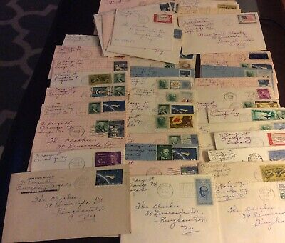 45 1960's letters/greeting cards Clarke family Binghamton NY, birthday etc