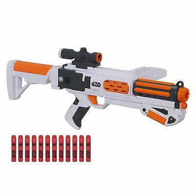 Star Wars Nerf Episode VII First Order Stormtrooper Deluxe Blaster Gun New