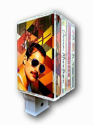 Queen Freddie Mercury Night Light-Retro Cassette Tape Design-Queen Wall art