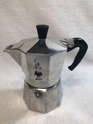 VTG BIALETTI Moka Express Single-Cup Stove-Top Expresso Coffee Maker ITALY # F19