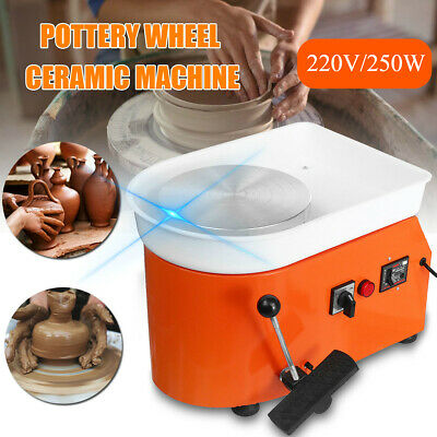 High Quality Turntable Electric Pottery Wheel Ceramic Machine Art Clay Craft 1s