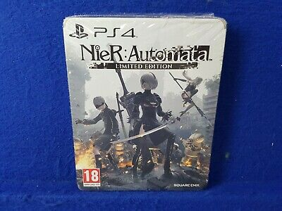 ps4 NIER AUTOMATA Limited Steelbook Edition REGION FREE ENGLISH PAL EXCLUSIVE
