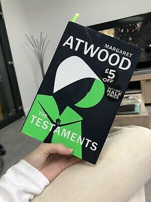 Margaret Atwood The Testaments Hardback Book