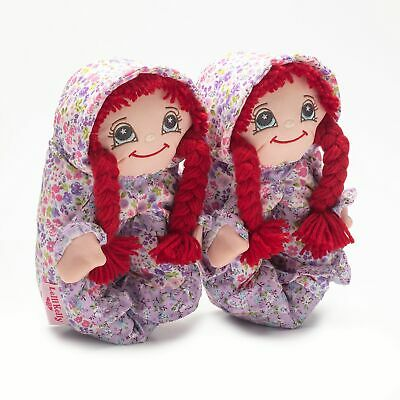 Lelli Kelly Doll Slippers - Rossa - Red Hair - LK8000 - Come with Star Clips