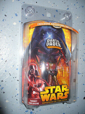 """Star Wars Revenge of the Sith 3 3/4"""" Figure Target Exclusive Lava Darth Vader"""