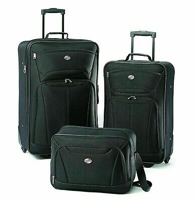 American Tourister Fieldbrook II 3-Piece Set Nested luggage  - Black