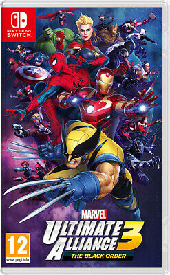 Marvel Ultimate Alliance 3 The Black Order Nintendo SWITCH IT IMPORT NINTENDO