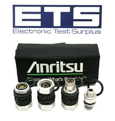 Anritsu 15RCN50-1.5R Phase Stable 7/16 DIN Type N Test Port Adapter Kit w/ Case