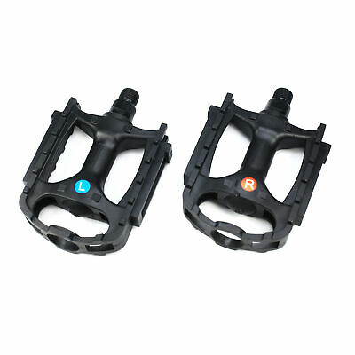 """Road Bike Pedals Platform Bicycle Pedals Boron Steel Spindle 9//16/"""""""