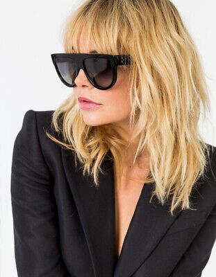 Celine ICONIC CL Shadow sunglass in Black hard to find
